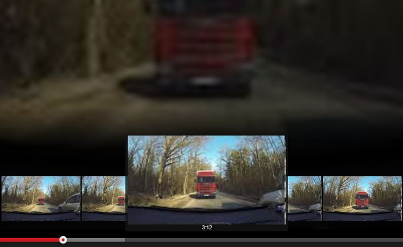 Russisches YoutTube DashCam EasterEgg | Einmal 'Fast-Forward' in einen Autounfall