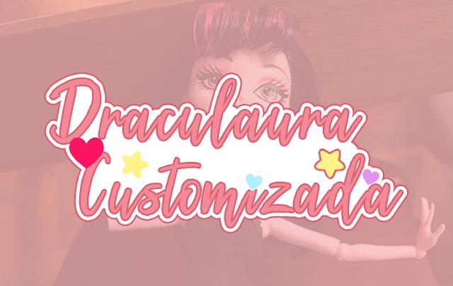 boneca Draculaura estilizada