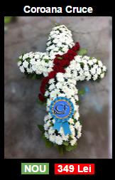 Coroana funerara cruce