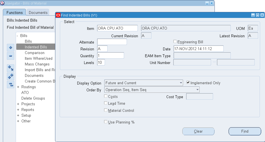 Oracle Applications Knowledge Sharing- Ajay Atre: OM ATO