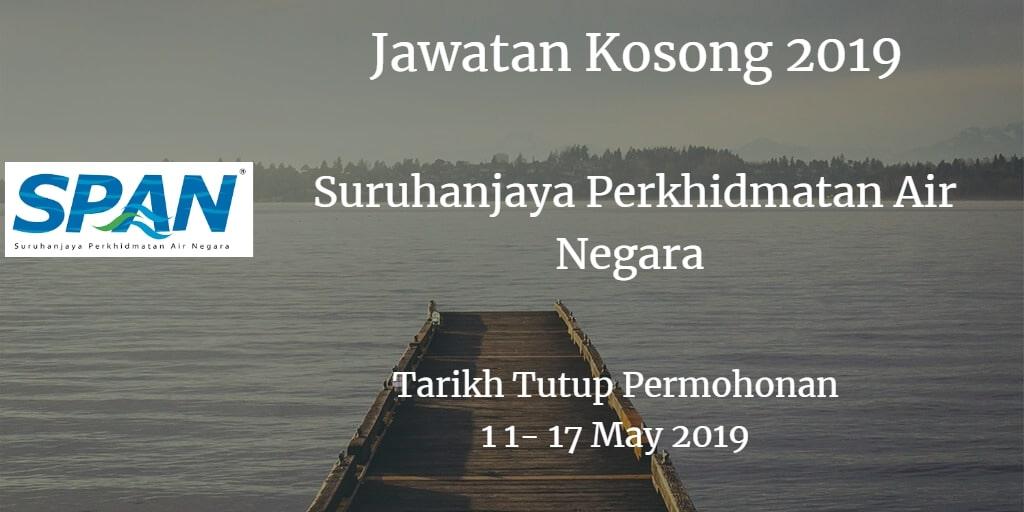 Jawatan Kosong SPAN 11 - 17 May  2019