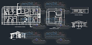 download-autocad-cad-dwg-file-builders-camp-for-construction-of-a-road