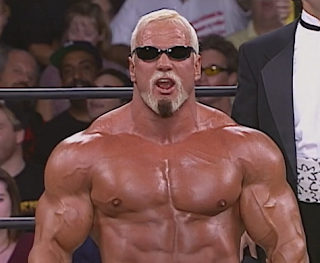 WCW Halloween Havoc 1998 - Scott Steiner got beat up by Rick Steiner