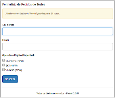 http://painelsat.hopto.me/sistema/formulario_testes.php?r=V2tBak5wT1haczNLazlONGpPTXdySzhTSGd0aGZ2S3FYKzdFVkNzQ2ZMaz0