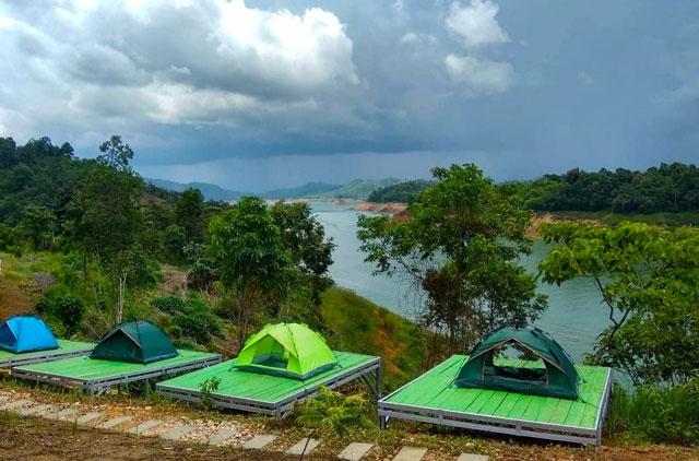 camping ground di wisata tanjung harapan