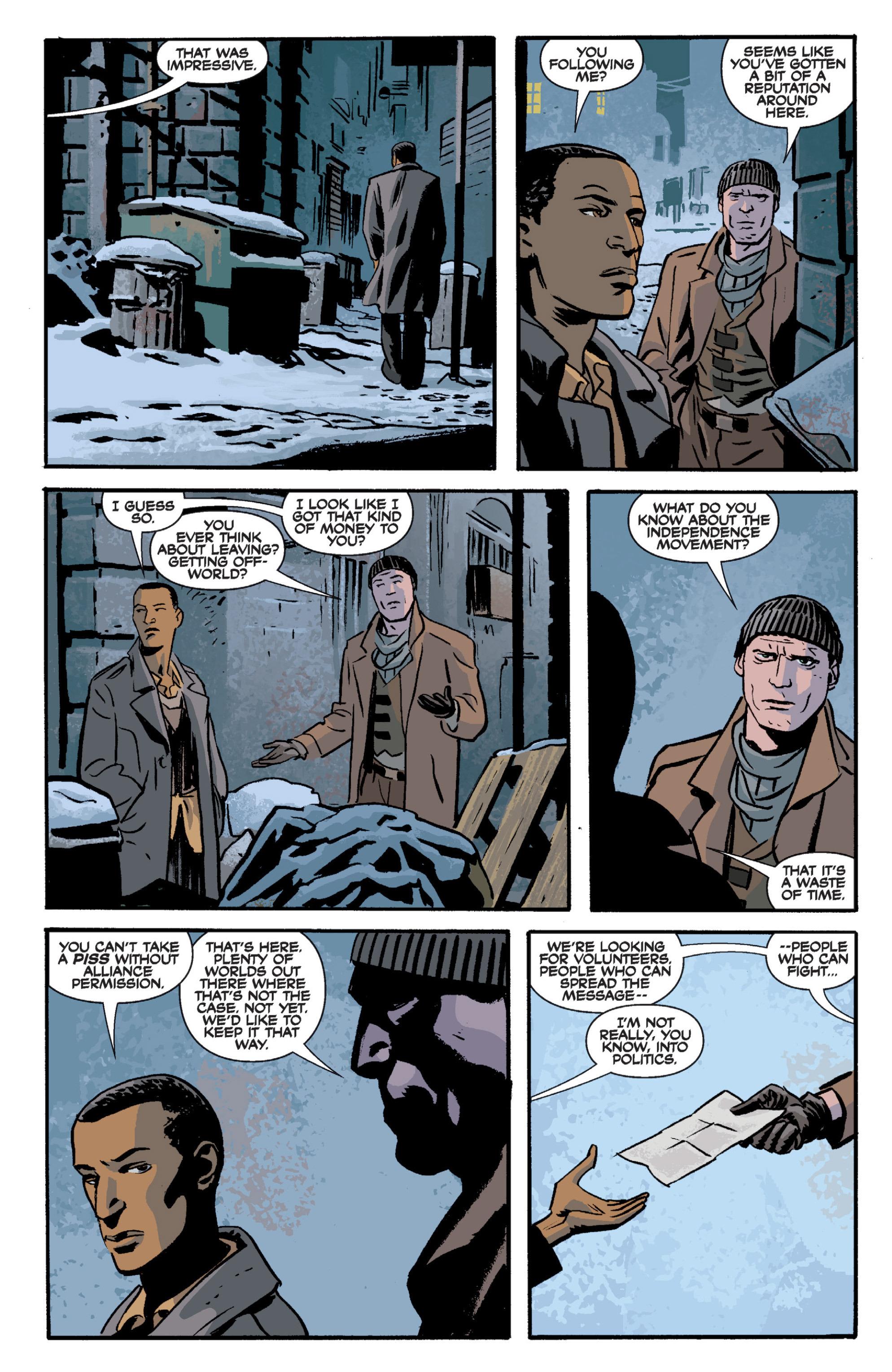Read online Serenity Volume Three: The Shepherd's Tale comic -  Issue # TPB - 49