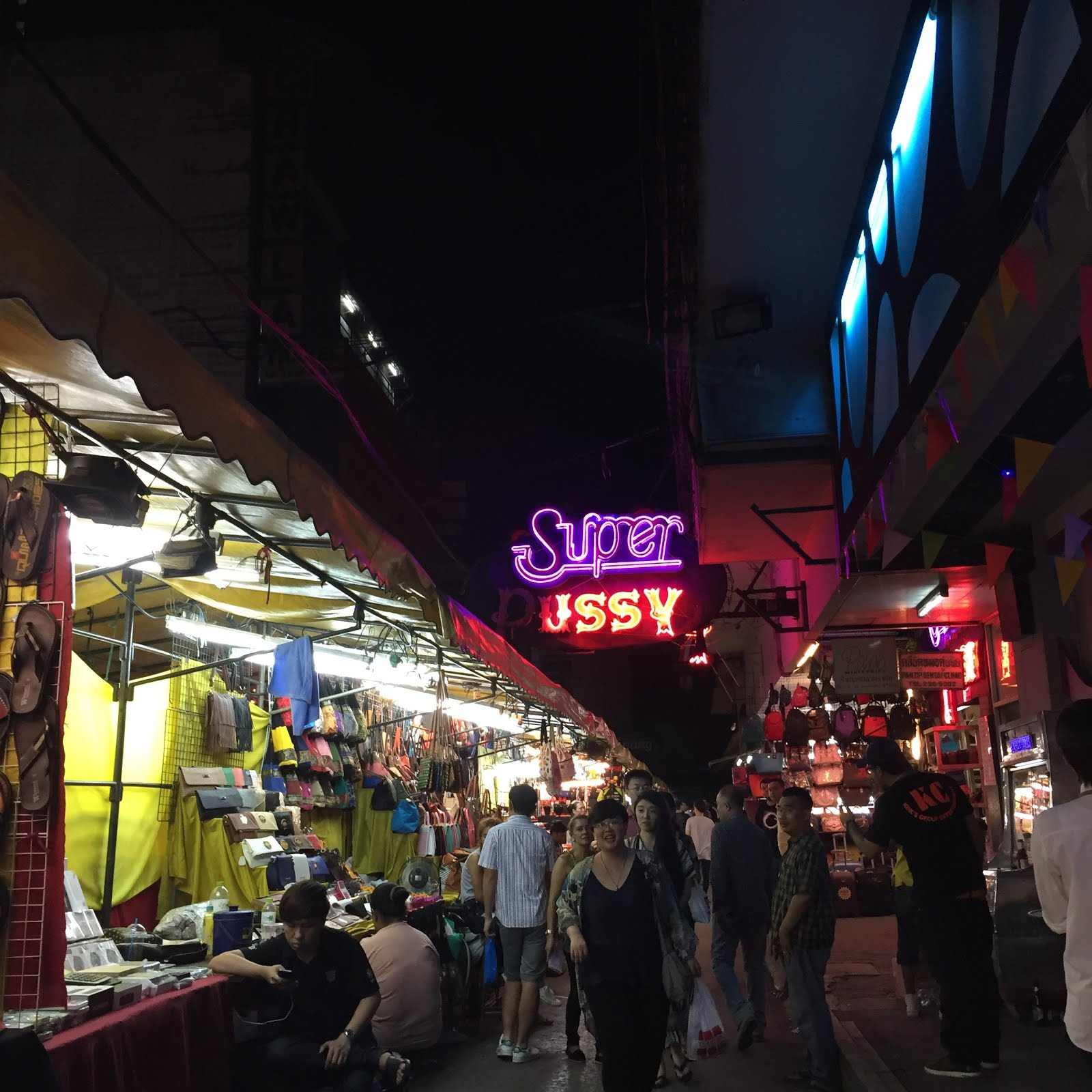 Patpong Road - the Infamous rad in Bangkok, Thailand // 3 Days in Bangkok - A City Guide
