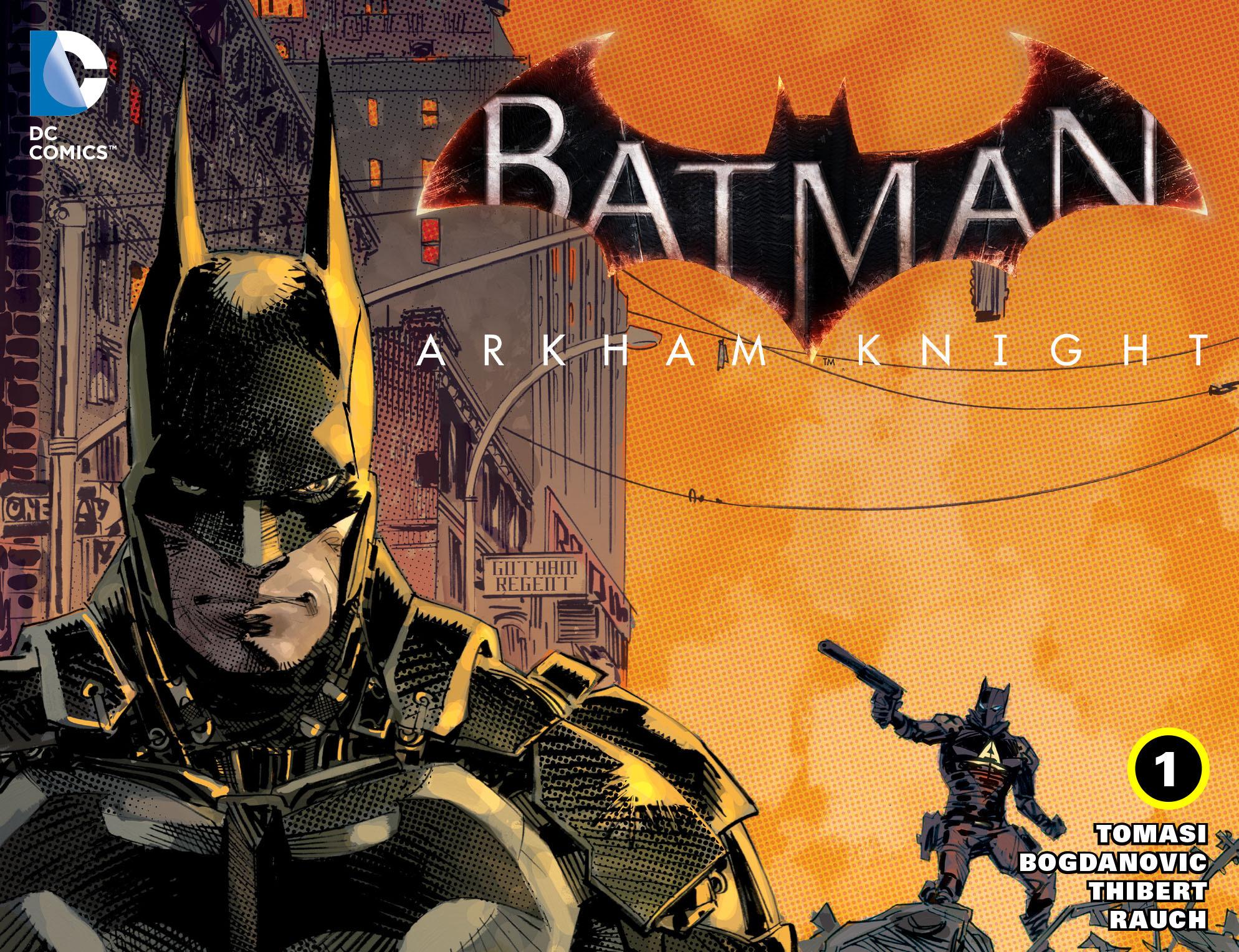 Batman: Arkham Knight [I] 1 Page 1