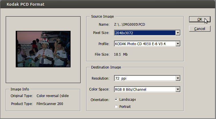 I Found This Useful: Convert old Photo CD scans on Mac OSX