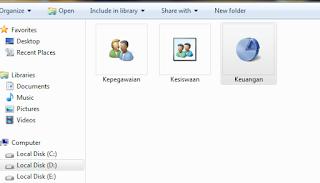 cara menyesuaian gambar icon folder