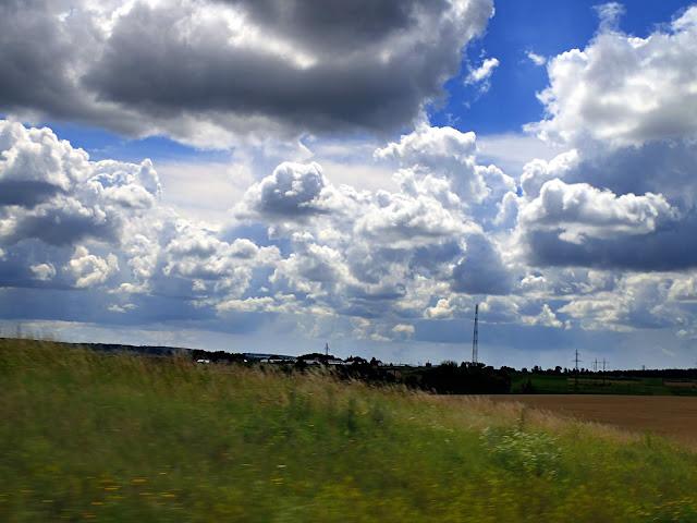 Spektakl chmur nad Ukrainą