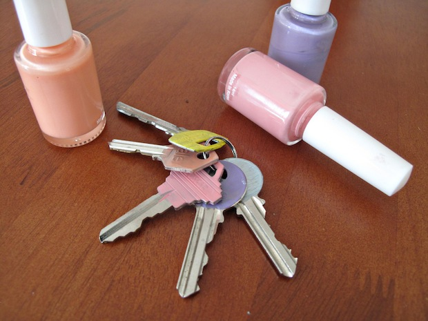 A Better Way To Identify Keys On Your Car Key Chain Key