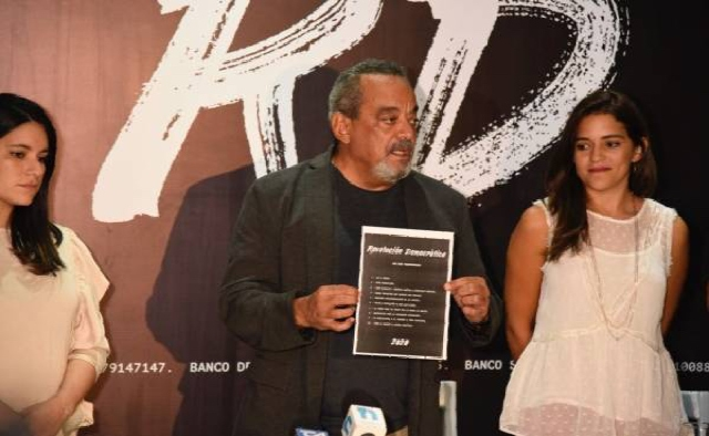 Alfonso Rodríguez anuncia sus aspiraciones a la Presidencia de la República