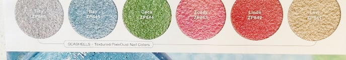 Zoya seashells and sunset summer collection 2016 pixie dust