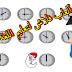 ألعاب فلاش لتعليم اللغة الفرنسية - لعبة تعلم التوقيت بالفرنسية le temps