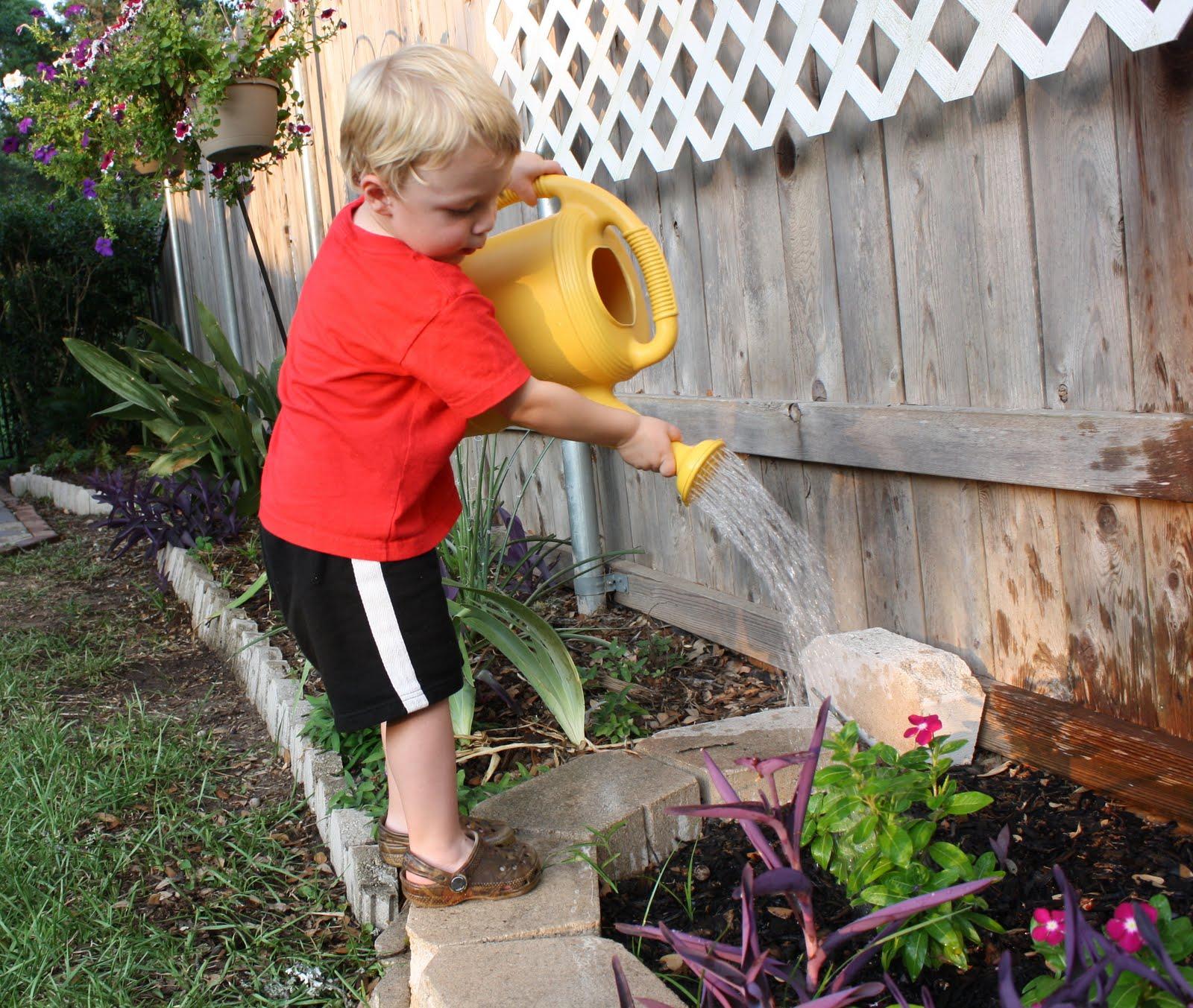 Ham Family Blog: Backyard Fun in Austin
