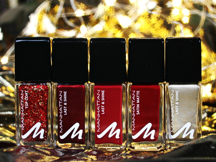 Manhattan Glam Red Nail Polish