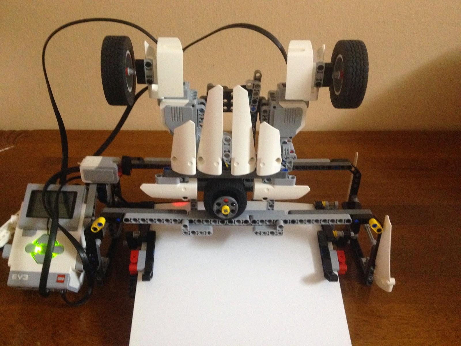 EV3 plotter | The NXT STEP is EV3 - LEGO® MINDSTORMS® Blog