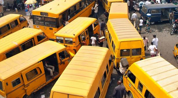 Commercial bus park Lagos state