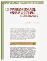 cuadernos escolares_chartier