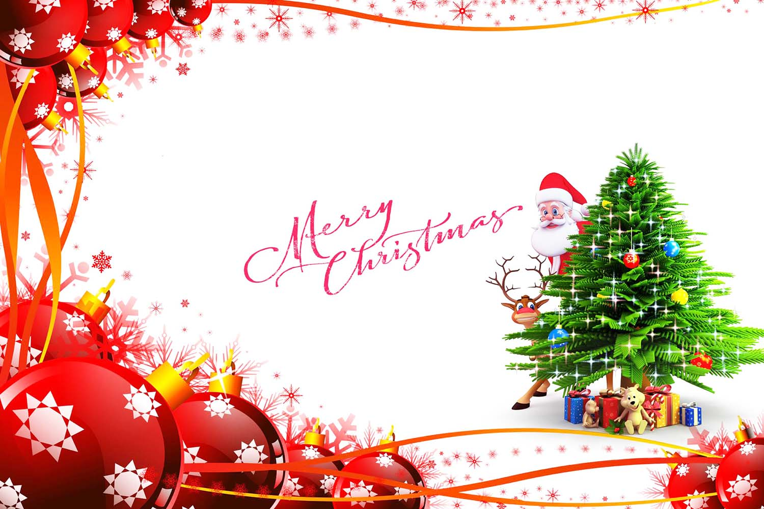 wishing merry christmas
