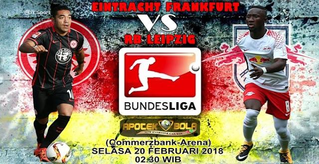 Prediksi Eintracht Frankfurt vs RB Leipzig 20 Februari 2018