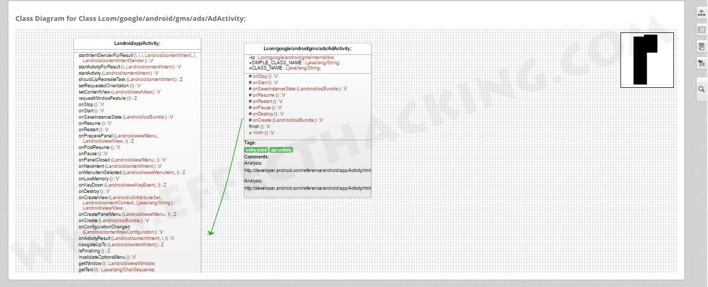 Class Diagram Screenshot