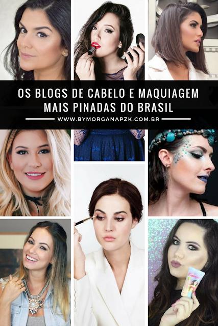 Os Blogs de Cabelo e Maquiagem mais Pinados do Brasil - Top 10