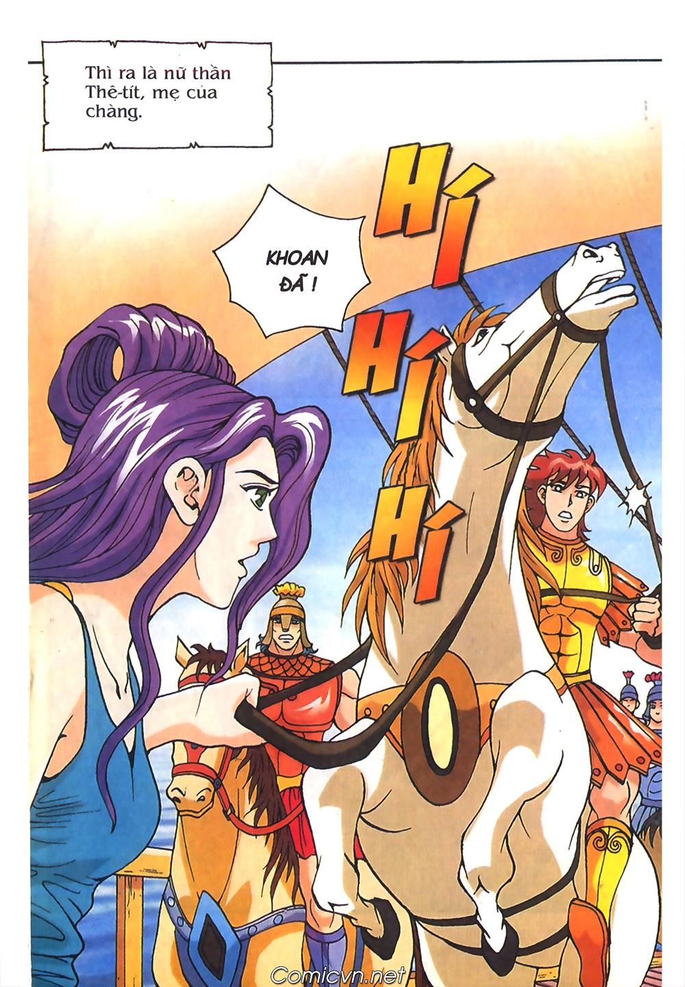 Thần Thoại Hy Lạp Màu - Chapter 55: Trận chiến đầu tiên - Pic 10