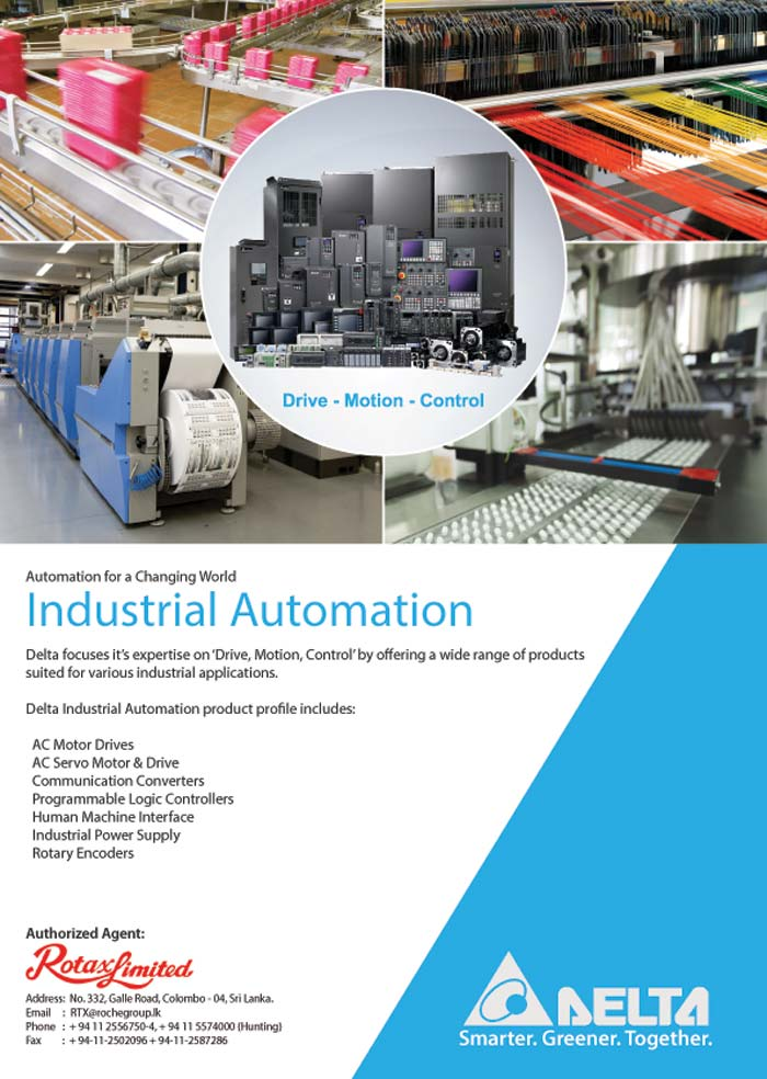 Rotax Limited | Delta - Industrial Automation