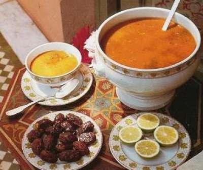 طريقة عمل شوربة الحريرة المغربية الاصلية soupe harira marocaine