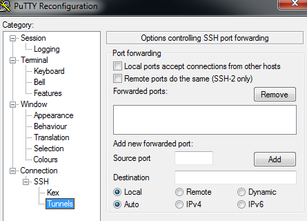 Musings of an IT Implementor: Dynamic SSH X-11 Forwarding on