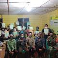 Babinsa Dampingi Penyerahan Sertifikat Tanah PTSL
