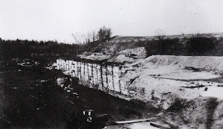 The Erie Extension Canal south of Albion