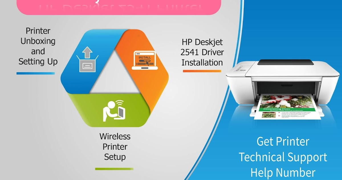 How to connect HP Deskjet 2541 to wifi