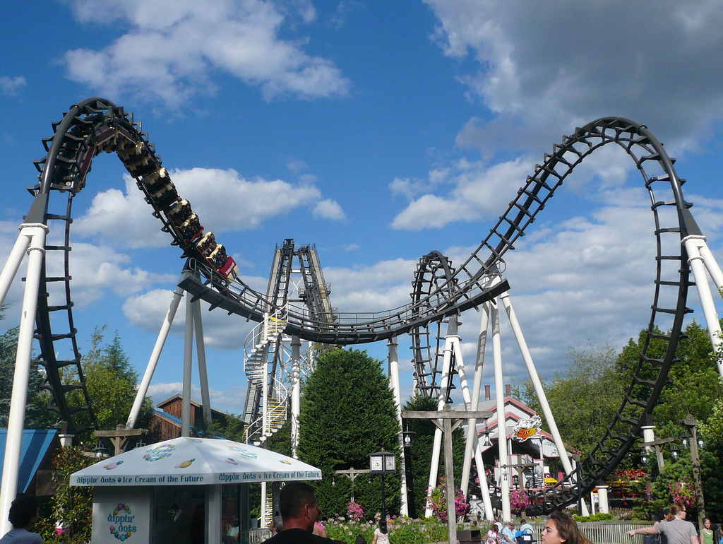 Twisted Cyclone Opens, The Reviews Are In + POV - AmusementInsider