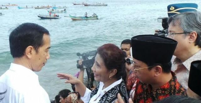 Disindir Susi, Jokowi Akan Perbaiki Jalan Menuju Pelabuhan