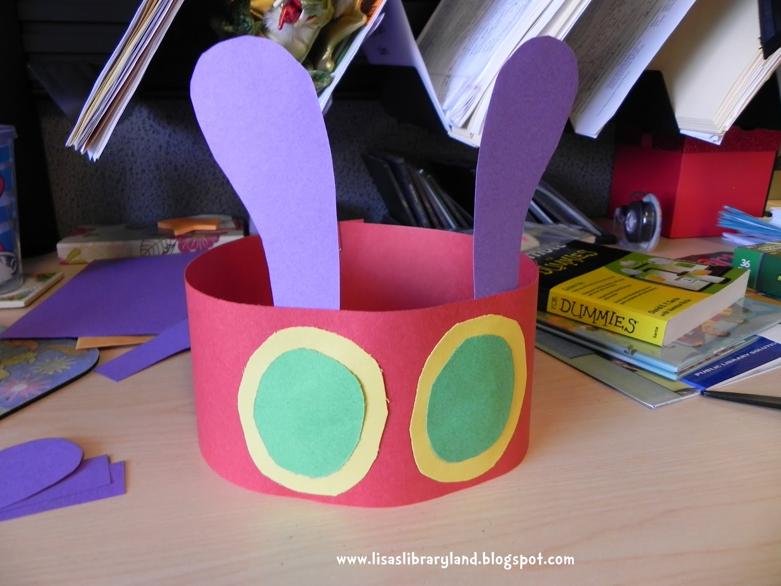 Libraryland Very Hungry Caterpillar Headband