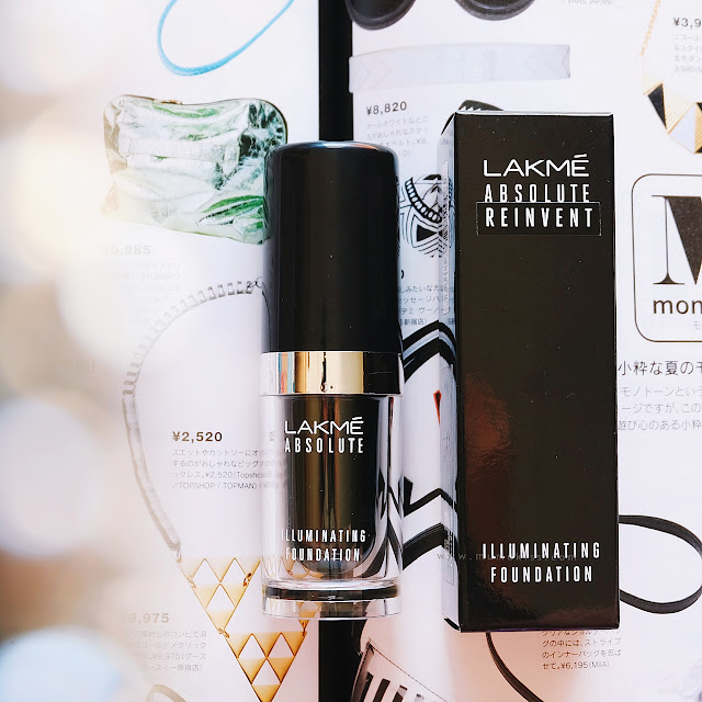 lakme absolute reinvent foundation