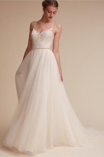model gaun pengantin modern simple elegan
