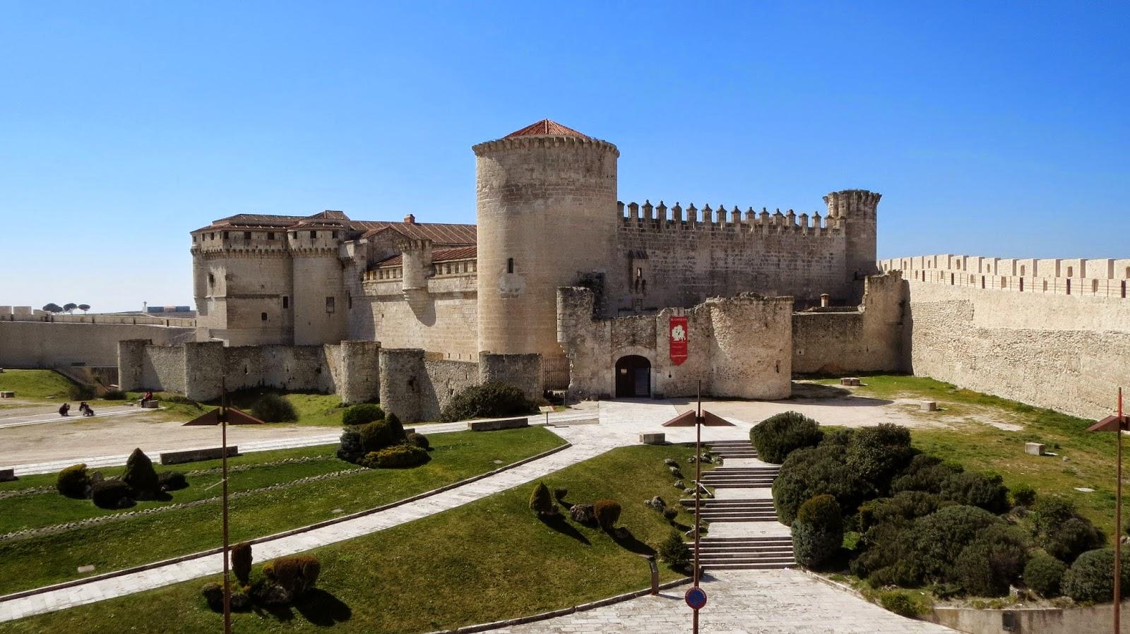 La Ruta de Isabel.Castillo de Cuéllar