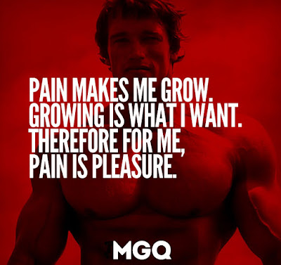 Gym Quotes About Pain