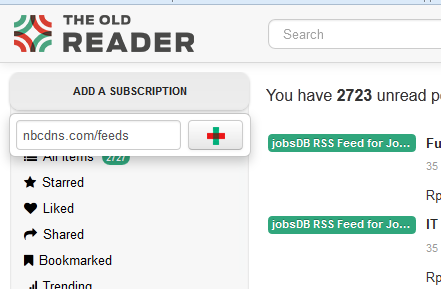 Rss Feeds Alternatif The Old Reader
