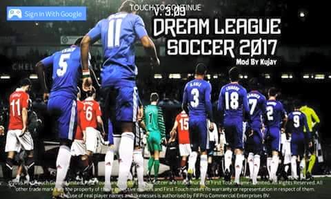 DLS Dream League Soccer 2017 MOD Unlimited Coin by Kujay Terbaru