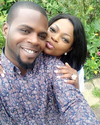 Funke Akindele celebrates her husband as he turns a year older