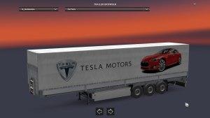 Tesla Motors Schimtz trailer mod