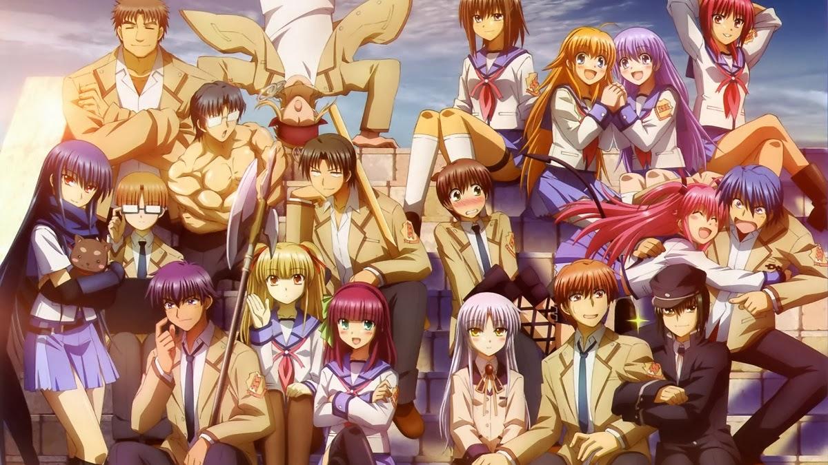 Kali ini saya akan membahas tentang anime angel beats salah satu anime yang bikin nyesek banjir air mata dan mempunyai ost yang keren abiz ane ngidol ama