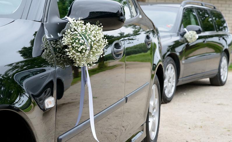 vestuvinių automobilių puošyba