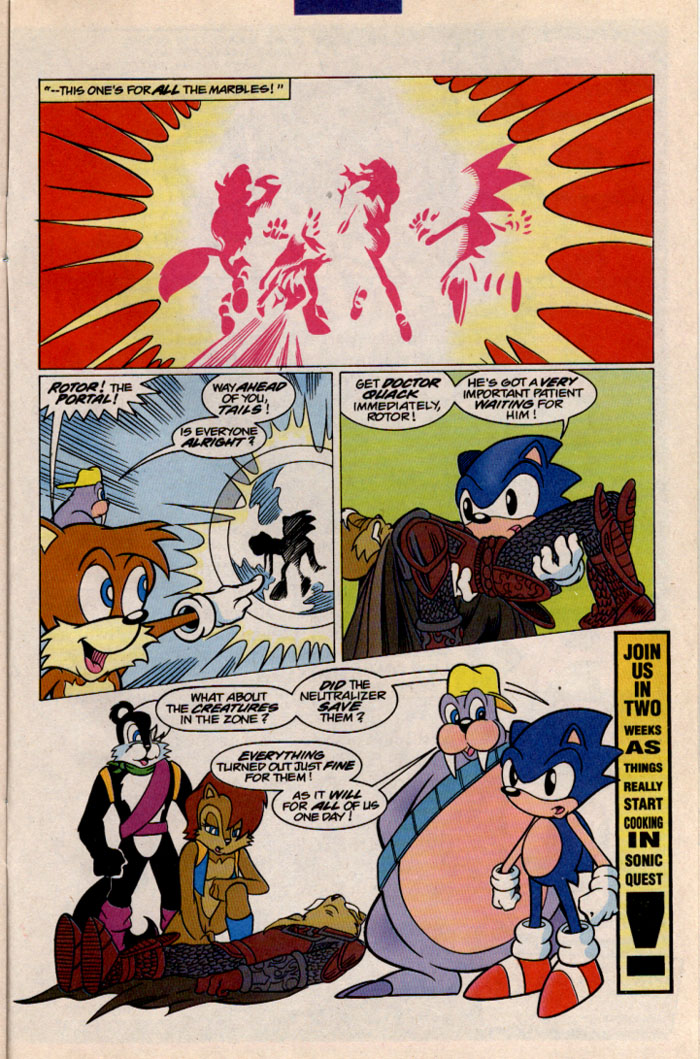 Read online Sonic The Hedgehog comic -  Issue #41 - 27