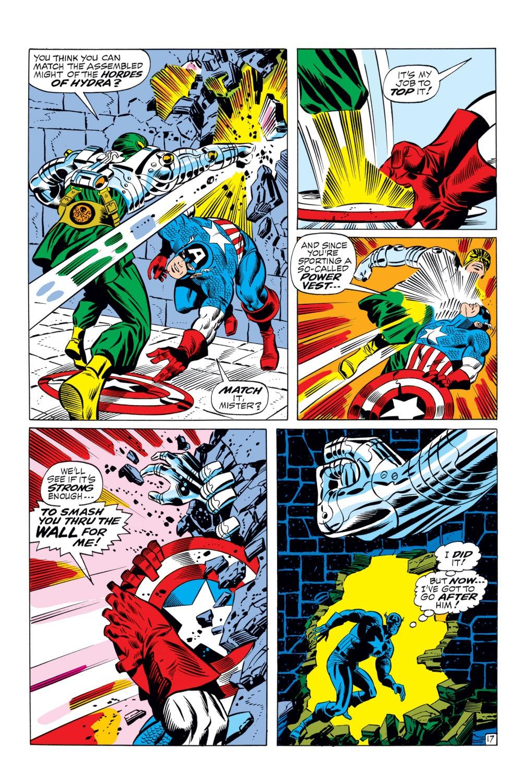 Read online Captain America (1968) comic -  Issue #110 - 17